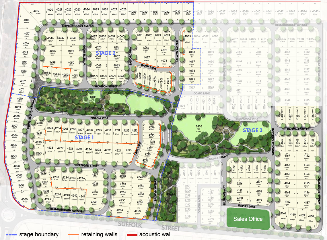 Balwyn estate plans